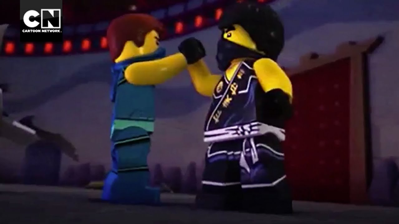 Jay vs cole ninjago masters of spinjitzu cartoon network youtube - Ninjago vs ninjago ...