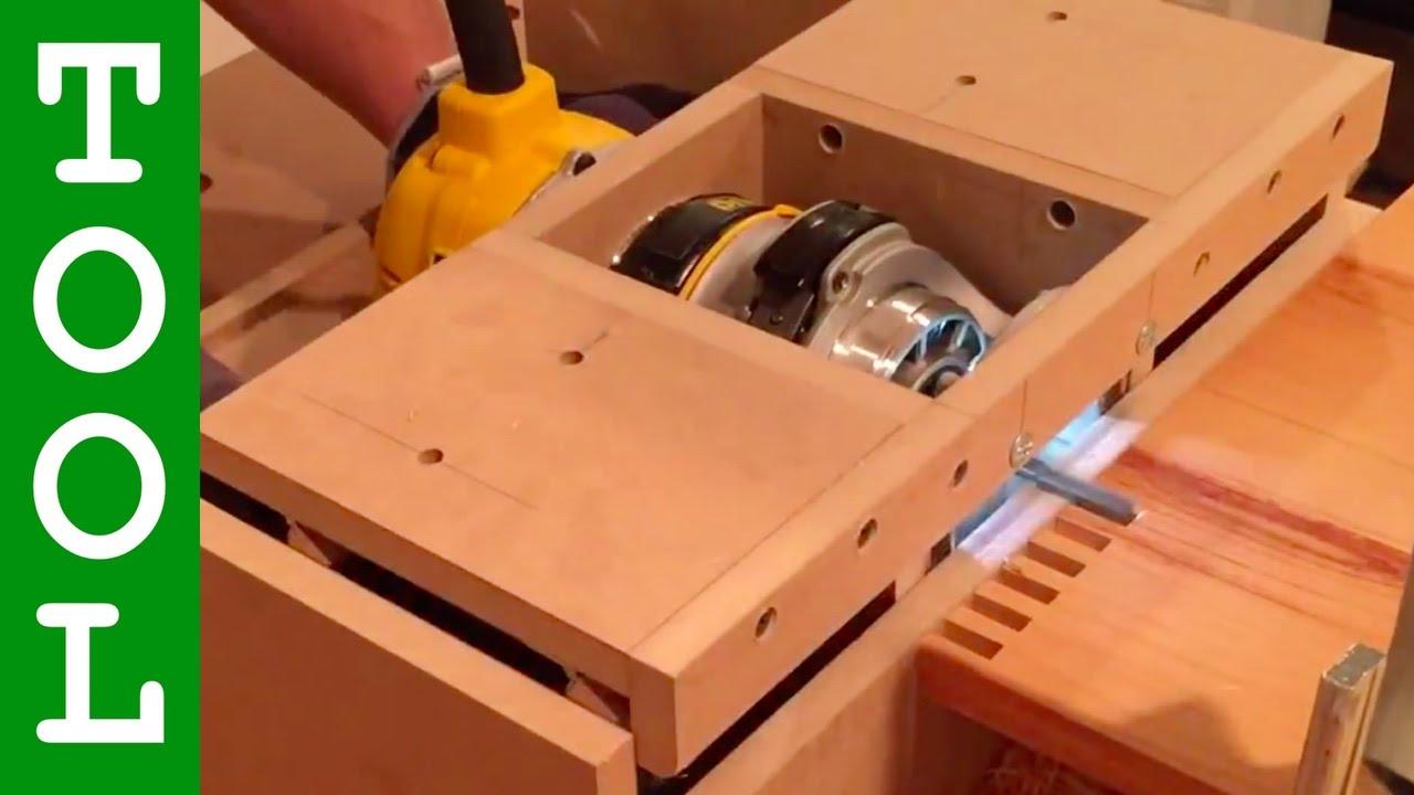 Innovative Quot Horizontal Quot Box Joint Machine Youtube