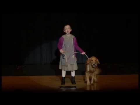 Maisy Surman in Annie (Dog Scene)