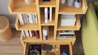 거실책장 선반 유아도서 인테리어 도서관 책꽃이