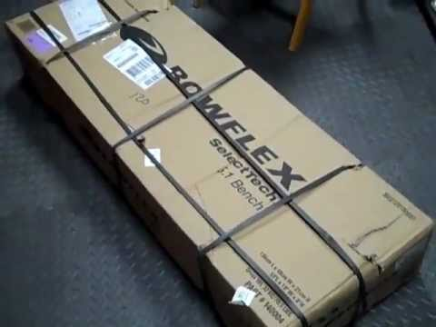 Bowflex 5.1 Selecttech Weight Bench Unboxing: Excuse the heavy breathing I just did a leg workout prior to the unboxing.