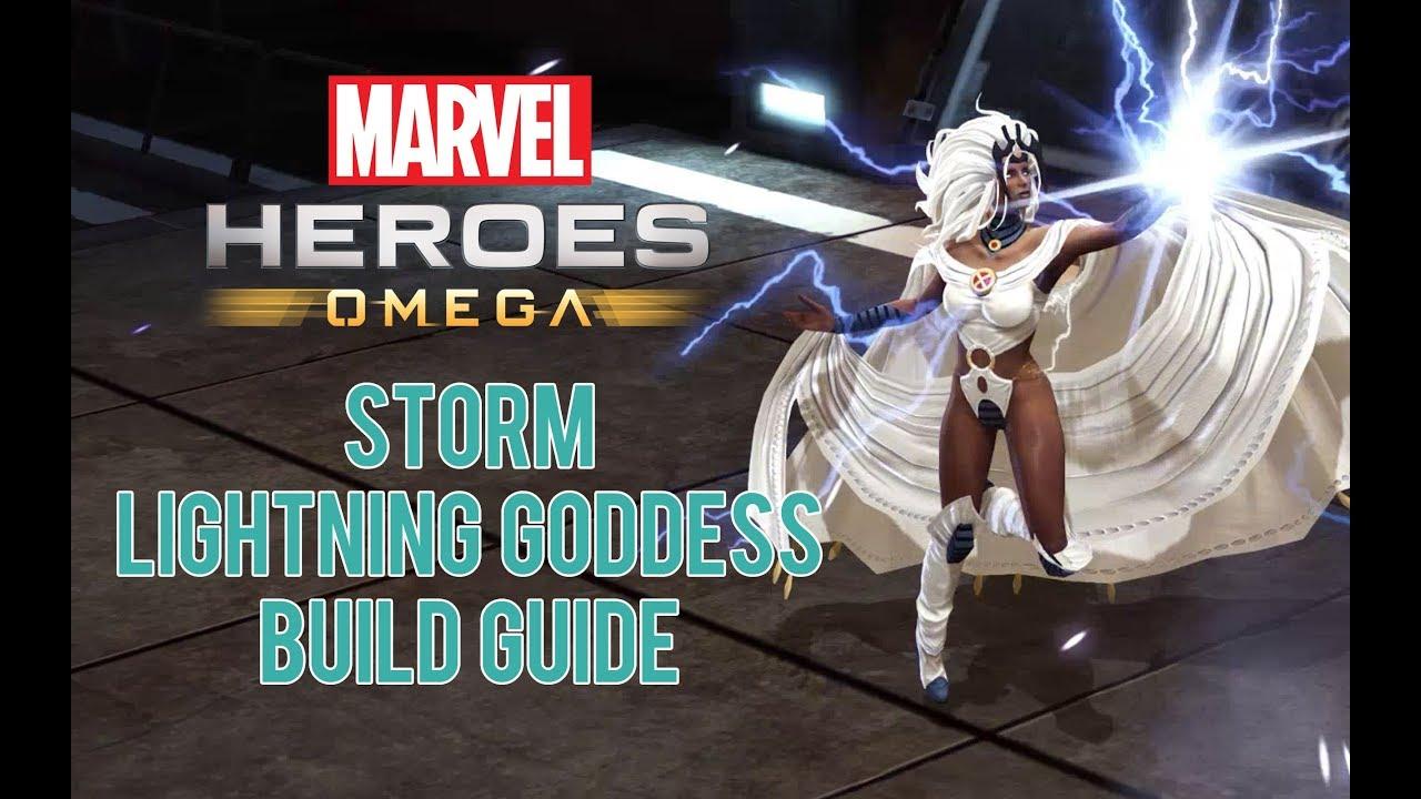 Storm 'Lightning Goddess' Build Guide - Marvel Heroes