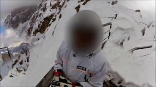 STAUNIES Vertical Ski Pendenza 64%-CRISTALLO-Cortina d'Ampezzo 2015