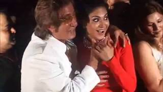 Shakti Kapoor KISSES Veena Malik all of a sudden.