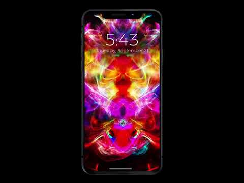 iPhone X & iPhone 8 Live Wallpapers - YouTube
