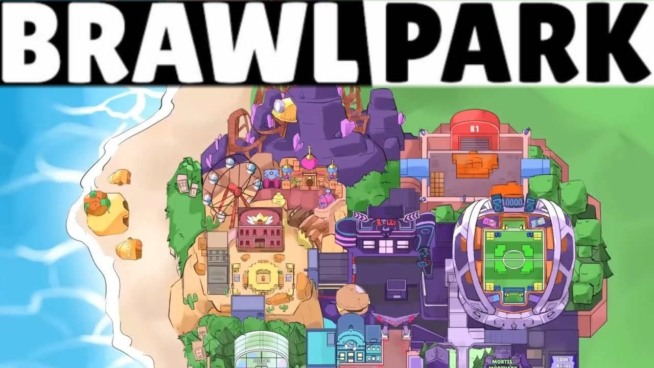 New BRAWL PARK MAP Was Tweeted!!! (Theory) UPDATE NEWS! - YouTube