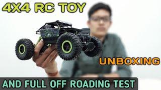 Rock Crawler Unboxing & Off Roading Test | 4×4 Rc Rock Crawler Off Road Test