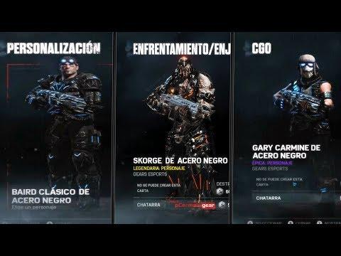 LOS NUEVOS PERSONAJES E-SPORT, ¿COMO SE VERÁN? | Gears of war 4