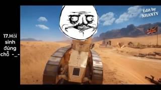 Hài hước game   Những tình huống ngu người trong Battlefield 1 #4