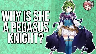 [FEH] Why is Nino a Flying Mage? A Quick Look at Nino and Florina's Support Conversation