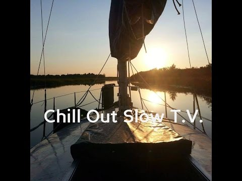 Boat Journery River Footage - (Chill Out Slow T.V.) Ep1
