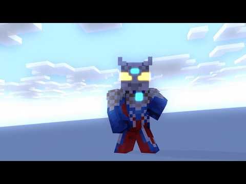 Minecraft Animation: Ultraman Zero Vs Sea Monster