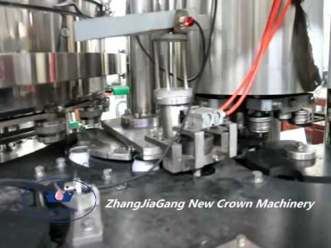 Aluminum Can Carbonated Canning Machine