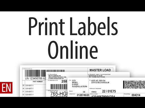 Create And Print Labels Online In Your Browser