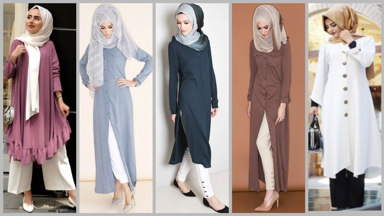 Modest Abaya Designer's Dress For Muslim Girls//Arabic Hijab Dress With Trousers