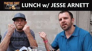 Lunch with TKO Bantamweight Champ Jesse Arnett in Calgary