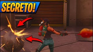 **SECRET** BAILE PLATFORMS! Easter Egg at FORTNITE: Battle Royale