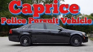 2012 Chevrolet Caprice Police Pursuit Vehicle (PPV): Regular Car Reviews