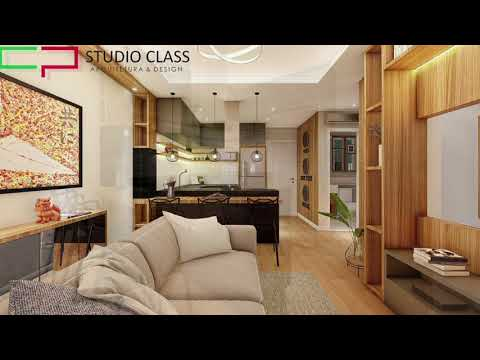 Projeto interiores loft flat vila cruzeiro apartamento studio sao paulo sp