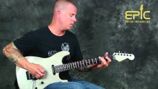 Learn Romeo Delight Van Halen EVH guitar song lesson pt1rhythms and melody chords