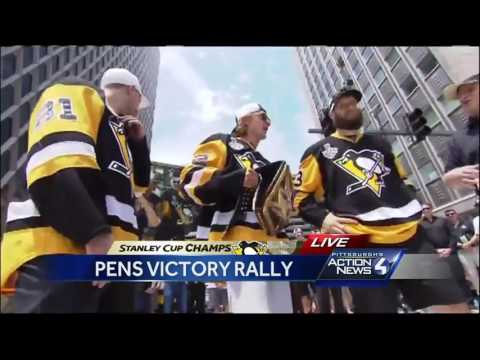 Penguins Stanley Cup parade: HBK Line speech