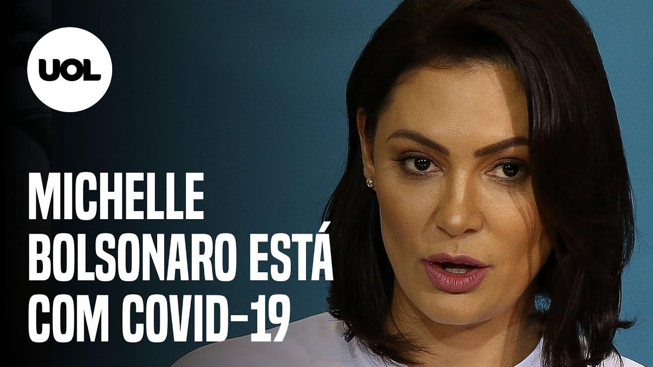 Michelle Bolsonaro testa positivo para novo coronavírus