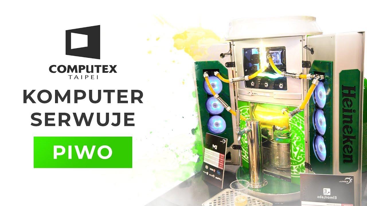 KOMPUTER KTÓRY SERWUJE PIWO ???? | COMPUTEX 2019