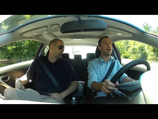 Driving Review   2013 Hyundai Elantra Coupe SE   First Take Test Drive