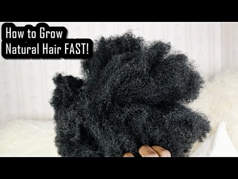 How to Grow Natural Hair FAST! Hacks Every Natural Should Know!