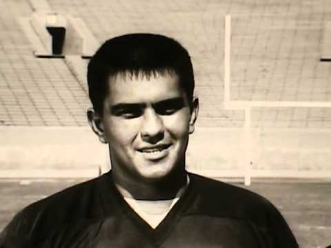 Personna Razor Blades Commercial With Roman Gabriel of the Los Angeles Rams