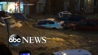Deadly Historic Flooding in Maryland