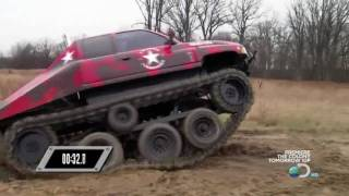Prowler Over The Tire Tracks On Discovery Channels Ultimate Car Build Off Episode 6