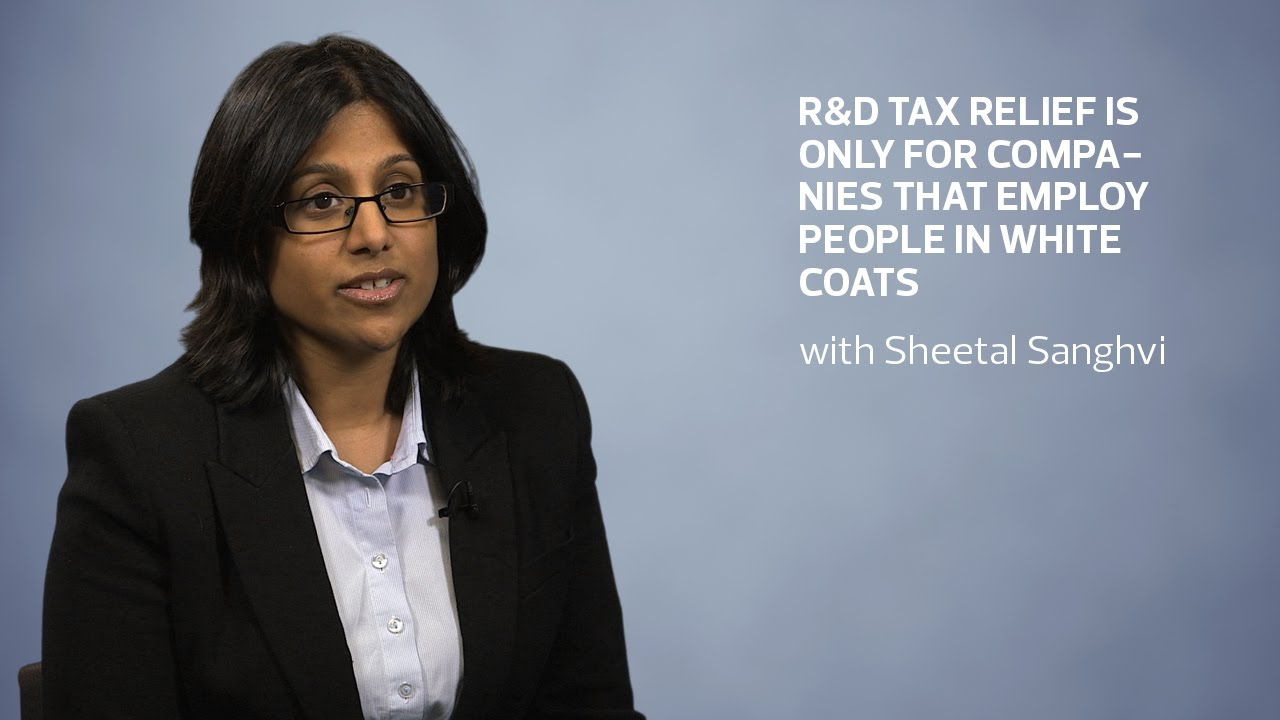 Myth four: R&D tax relief is only for companies that employ people ...