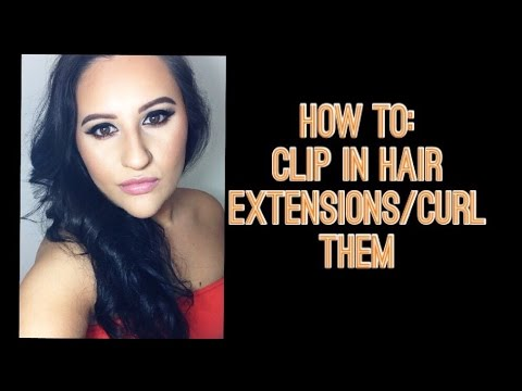 How to clip in hair extensionscurl them sally beauty how to clip in hair extensionscurl them sally beauty euronext premium extension pmusecretfo Choice Image