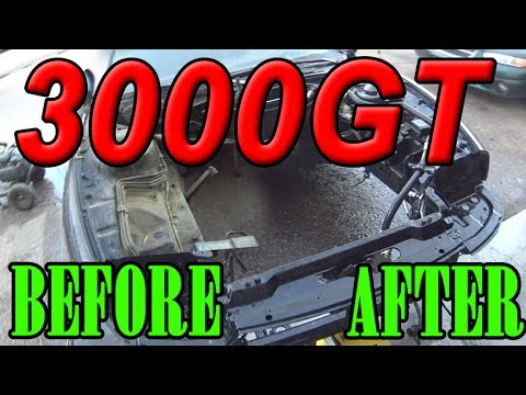 3000GT Worst Engine Bay Cleaning 🔥 🔥