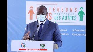 Covid-19 : point de situation en Côte d'Ivoire au dimanche 12 avril 2020