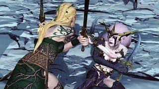 Эльфийские ведьмы VS Танцоры войны - Tests Total War Warhammer 2