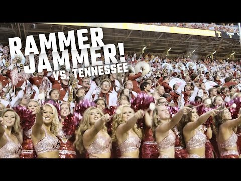 Watch the electric Rammer Jammer after Alabama crushed Tennessee