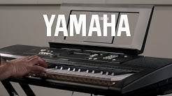 Yamaha EZ220 61 Key Lighting Keyboard | Sound Demonstration