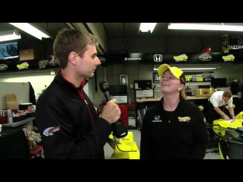Will Power Interviews Sarah Fisher