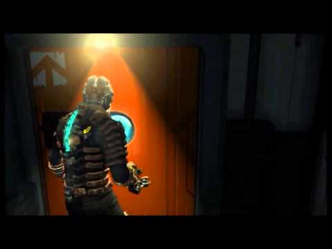 Dead Space 2: Chapter 13 - quick laser traversal (speed run tactic)