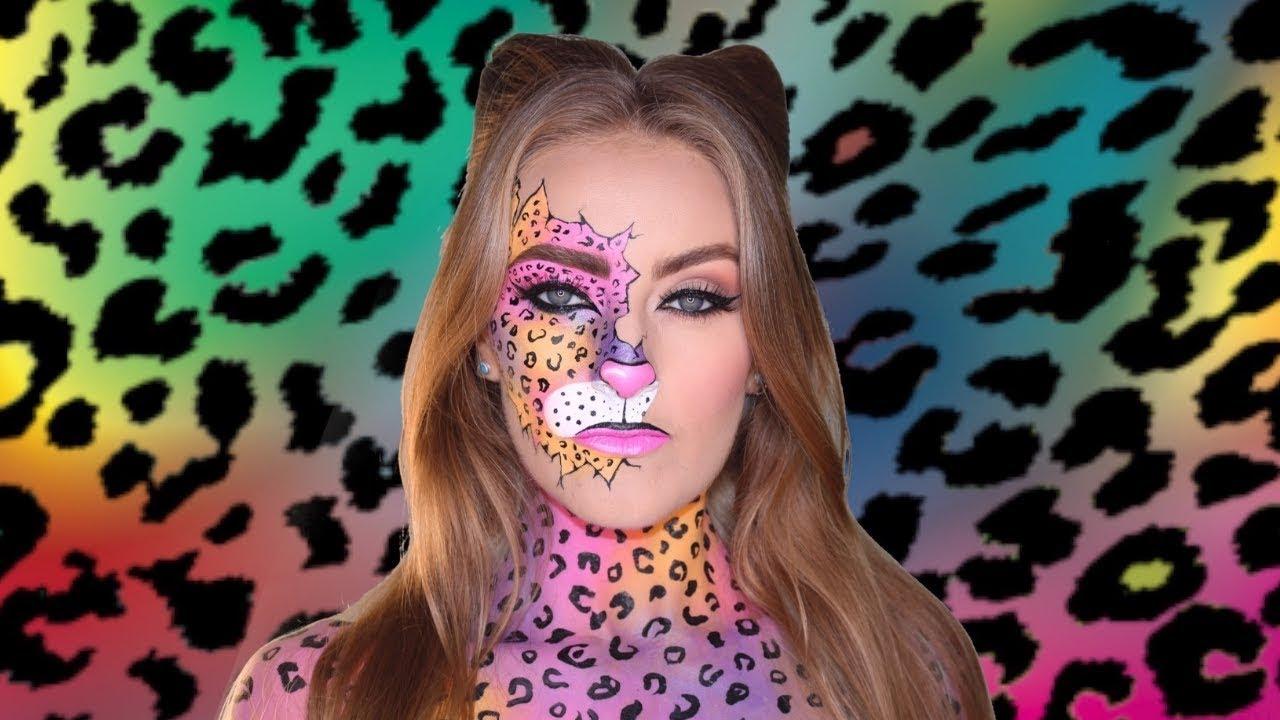 0f3f6032f5de Leopard Print Halloween Makeup Tutorial (Day 6 of 31 Days of Halloween)