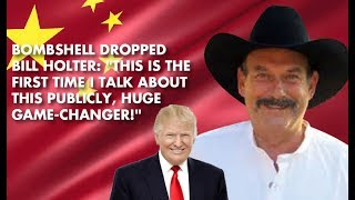 BILL HOLTER: CHINA IN HUGE TROUBLE, CAN'T MASQUERADE IT - GLOBAL ECONOMY TEETERING!