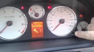 Service lamp reset in Peugeot 407