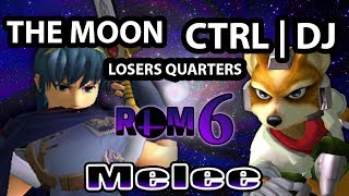 RoM 6 - The Moon (Marth) Vs. CTRL | DJ Nintendo (Fox Marth) SSBM Losers Quarters - Melee