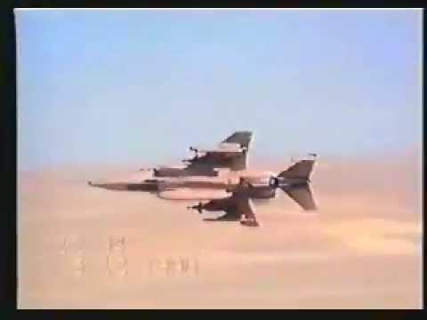 Gulf War 1991 flying video