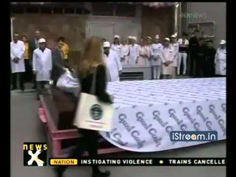 Largest Chocolate Bar In The World, Produced In Yerevan, Armenia