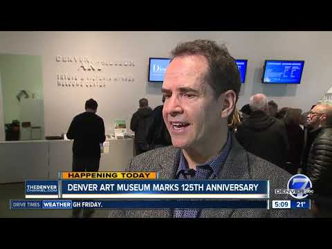Denver Art Museum marks 125th anniversary