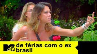 Tati parte para cima e taca bebida na cara da Stefani | De Férias com o ex Brasil Ep. 03