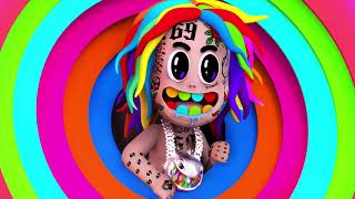 6ix9ine - NINI (Feat. Leftside) [Official Lyric Video]